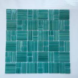 Premium Mosaic Mozaika MIX tyrkysová 4,8/2,3hand.painte MOS4823MIX3HP