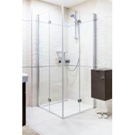 Sprchový kút Anima SK skladací 90 cm, sklo číre, chróm profil, univerzálny SIKOSK9090