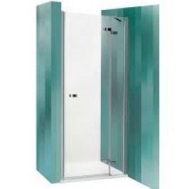 Sprchové dvere Roltechnik jednokrídlové 140 cm, sklo číre, chróm profil, pravé GDNP11400TBR