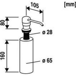 Abu ABU  Multiset dávkovač mydla 712599