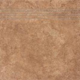 Rako Pietra di Mare hnědá schodovka 33x33 FINEZA54036