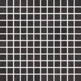 Mozaika Rako Unistone čierna 30x30 cm, mat, rektifikovaná DDM0U613.1