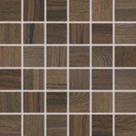 Mozaika Rako Board tmavo hnedá 30x30 cm, mat, rektifikovaná DDM06144.1