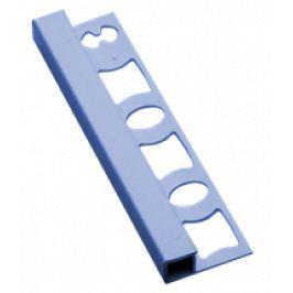 Profil-EU Lišta ukončovacia hranatá PVC svetlo modrá, 8 mm, 250 cm LH825013