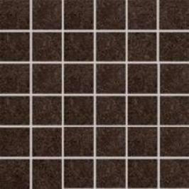 Mozaika Rako Rock hnedá 30x30 cm, mat, rektifikovaná DDM06637.1