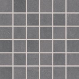 Mozaika Rako Clay tmavo šedá 30x30 cm, mat, rektifikovaná DDM06642.1