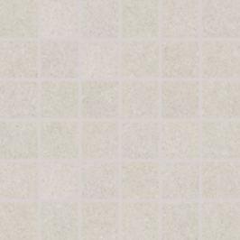 Mozaika Rako Rock biela 30x30 cm, mat, rektifikovaná DDM06632.1