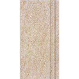 Schodovka Rako Pietra béžová 30x60 cm, mat, rektifikovaná DCPSE629.1
