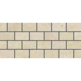 Mozaika Rako Golem béžová 20x45 cm, mat, rektifikovaná DDPPP649.1