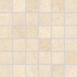 Mozaika Rako Stones béžová 30x30 cm, mat, rektifikovaná DDM06668.1