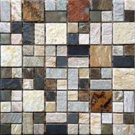 Premium Mosaic Stone Kamenná mozaika mix barev 4,8/2,3 STMOS4823MIX1