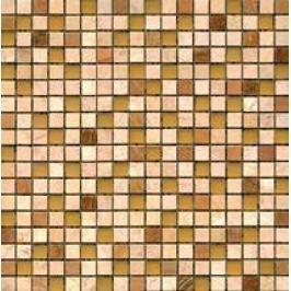 Premium Mosaic Stone Kamen.moz.-MIX béž.-oranž.-sklo 1,5/1,5 STMOS15MIX2