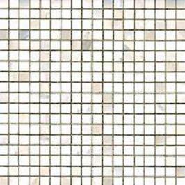 Premium Mosaic Stone Kamenná mozaika biela leštená 1,5/1,5 STMOS15WHP