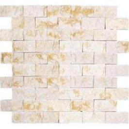 Premium Mosaic Stone Kamenná mozaika krémové tehly 3/6 STMOS3060CR