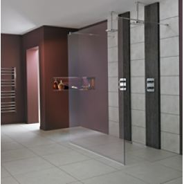 Pevná stena Ideal Standard Wetroom Walk-in 100 cm, sklo číre L6224EO