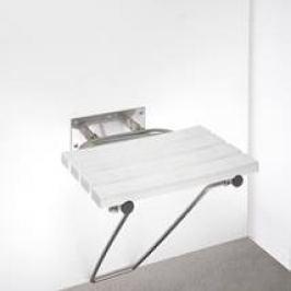 Bemeta Sklopné sedadlo s opěr.nohou, nerez brus 301102182