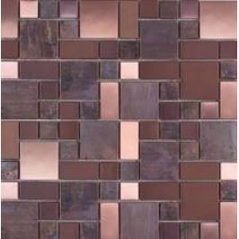 Premium Mosaic Stone Medená mozaika 4,8/4,8+2,3/2,3+4,8/2,3 MOS4823CO