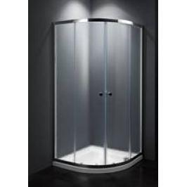 Sprchový kút Multi Basic štvrťkruh 80 cm, R 550, nepriehľadné sklo, chróm profil, univerzálny SIKOMUS80CRCH