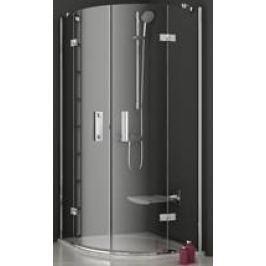 Sprchový kút Ravak Serie 700 štvrťkruh 90 cm, sklo číre, chróm profil SMSKK490TCR