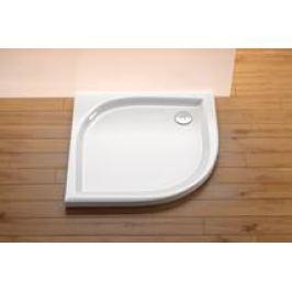 Sprchová vanička štvrťkruhová Ravak Elipso 80x80 cm, R 500, akrylát EL80EX0