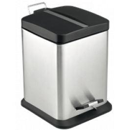 Optima Odpadkový kôš 12 l, nerez, mat KOS12PLCTVER