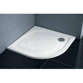 Sprchová vanička štvrťkruhová Ravak Elipso 100x100 cm, R 500, liaty mramor EL100PRO0