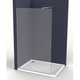 Pevná stena Anima Walk-in 120 cm, sklo číre, chróm profil WI120
