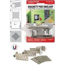 Havos Magnety do obkladů stavitelné MAGNETYST