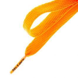 Mr. Lacy Šnúrky Flatties Bright Orange Doplnky Šnúrky 2000060001823 Doplnky Šnúrky Oranžová ONE SIZE