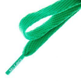 Mr. Lacy Šnúrky Flatties Kelly Green Doplnky Šnúrky 2000060002196 Doplnky Šnúrky Zelená ONE SIZE