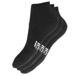 Sizeer Ponožky Členkové 3Ppk Black Doplnky Ponožky Sisk4901 Doplnky Ponožky Čierna US L