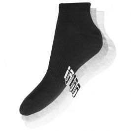 Sizeer Ponožky Členkové 3Ppk Mix Doplnky Ponožky Sisk4609 Doplnky Ponožky Viacfarebná US L