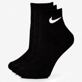 Nike Ponožky 3Ppk Quarter Black Doplnky Ponožky Sx47060010 Doplnky Ponožky Čierna US S