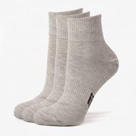 Sizeer Ponožky Nízke 3Ppk Grey Doplnky Ponožky Sisk3601 Doplnky Ponožky Sivá US L