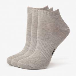 Sizeer Ponožky Členkové 3Ppk Grey Doplnky Ponožky Sisk4601 Doplnky Ponožky Sivá US L