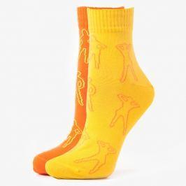 Sizeer Ponožky More 2Ppk Quarter Girl Doplnky Ponožky Sizmo069Uh18 Doplnky Ponožky Viacfarebná US S