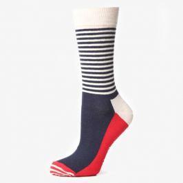 Happy Socks Ponožky Half Stripe Doplnky Ponožky Sh01068 Doplnky Ponožky Viacfarebná US L