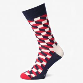 Happy Socks Ponožky Filled Optic Socks Doplnky Ponožky Fo01068 Doplnky Ponožky Viacfarebná US L
