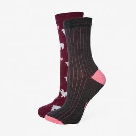 Sizeer Ponožky Lamas 2Ppk Doplnky Ponožky Sisk2303 Doplnky Ponožky  ONE SIZE