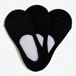 Sizeer Členkové Footie 3Pack Doplnky Ponožky Si16Ftd001B Doplnky Ponožky Čierna US 41/44
