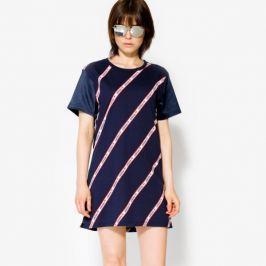 Adidas Šaty Tee Teplákys Ženy Oblečenie Šaty Bj8369 Ženy Oblečenie Šaty Tmavomodrá US S