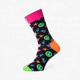 Happy Socks Ponožky Peace & Love Socks Doplnky Ponožky Pal019000 Doplnky Ponožky Viacfarebná US L