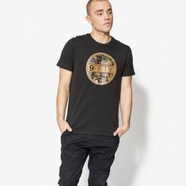 New Era Tričko Ss Camo Visor Sticker Tee Ne Blk Muži Oblečenie Tričká 11585991 Muži Oblečenie Tričká Čierna US S