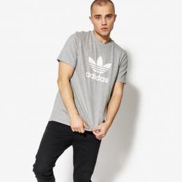 Adidas Tričko Ss Trefoil Tričko Muži Oblečenie Tričká Cy4574 Muži Oblečenie Tričká Sivá US M