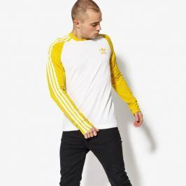Adidas Tričko Ls 3-Stripes Ls T Muži Oblečenie Tričká Cw1230 Muži Oblečenie Tričká Žltá US L
