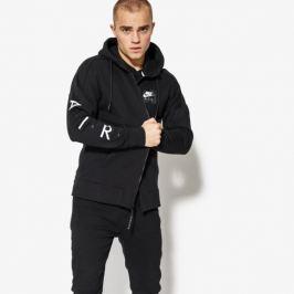 Nike Mikina M Nsw Hoodie Air Fz Flc Muži Oblečenie Mikiny 886044-010 Muži Oblečenie Mikiny Čierna US XXL