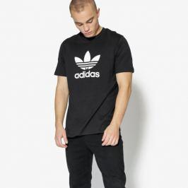 Adidas Tričko Ss Trefoil Tričko Adicolor Muži Oblečenie Tričká Cw0709 Muži Oblečenie Tričká Čierna US XL