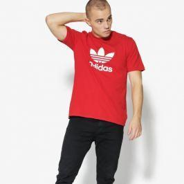 Adidas Tričko Ss Trefoil Tričko Muži Oblečenie Tričká Cx1895 Muži Oblečenie Tričká Červená US XL
