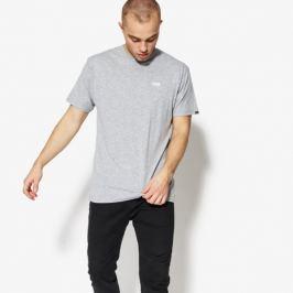 Vans Tričko Ss Left Chest Logo Tee Va3Czeath Muži Oblečenie Tričká Va3Czeath Muži Oblečenie Tričká Sivá US XL