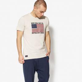 New Era Tričko Ss World Hood U.s.a. Tee New Era Stone Muži Oblečenie Tričká 11517683 Muži Oblečenie Tričká Béžová US XL